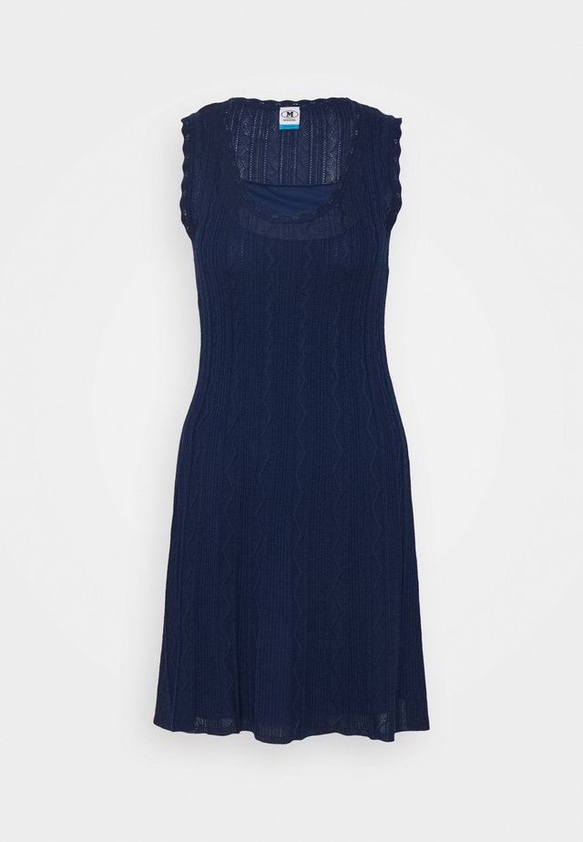 ABITO SENZA MANICHE - Day dress - dark blue