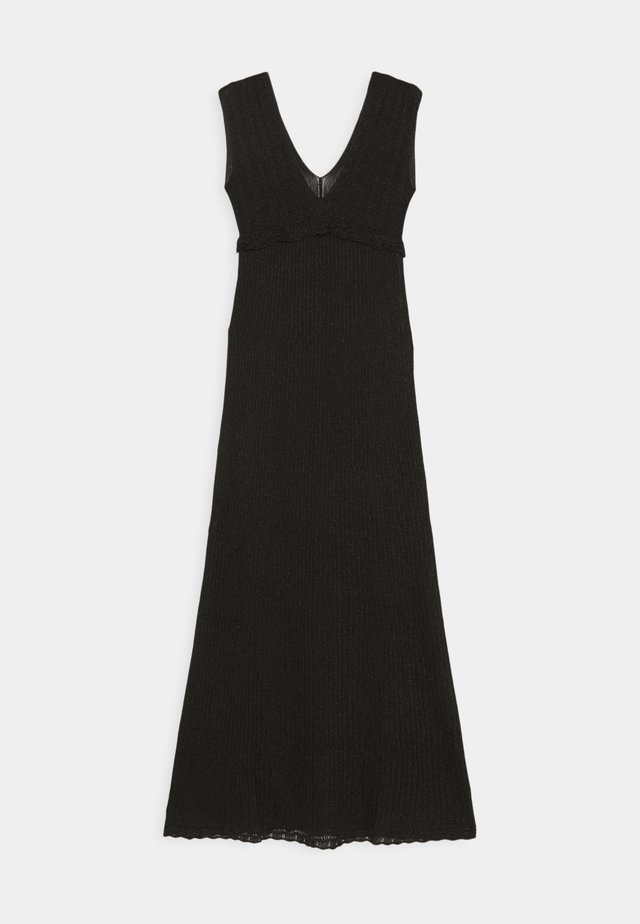 ABITO LUNGOSENZA MANICHE - Day dress - black