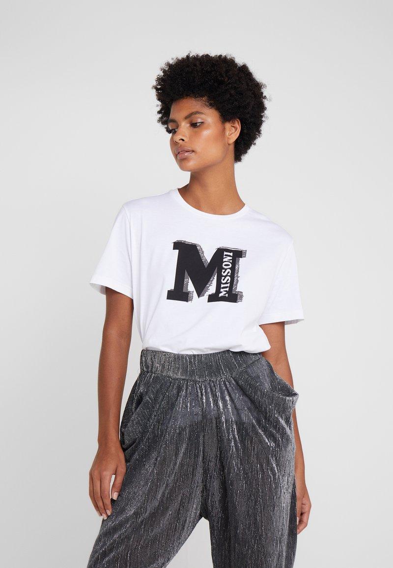 TeeT M Imprimé White shirt Missoni hrCQdts