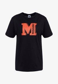 M Missoni - TEE - T-Shirt print - black/orange - 3