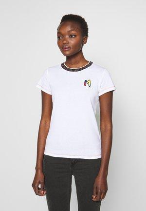 SHORT SLEEVE - T-Shirt print - white