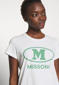 M Missoni - SHORT SLEEVE - T-Shirt print - white - 4