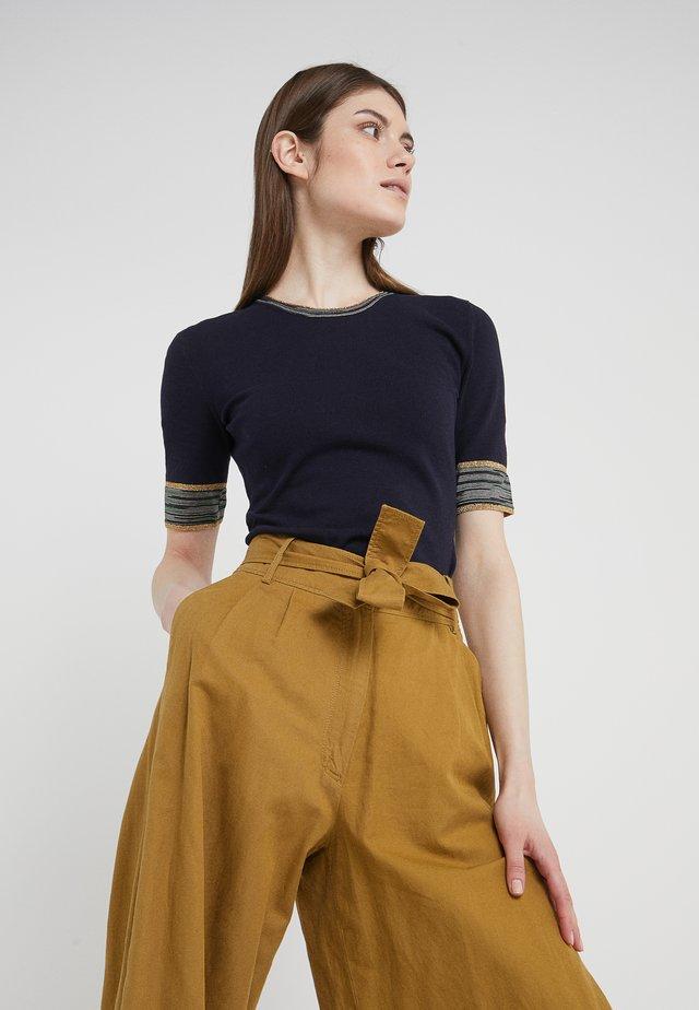 SLEVE TEE - T-Shirt print - dark blue