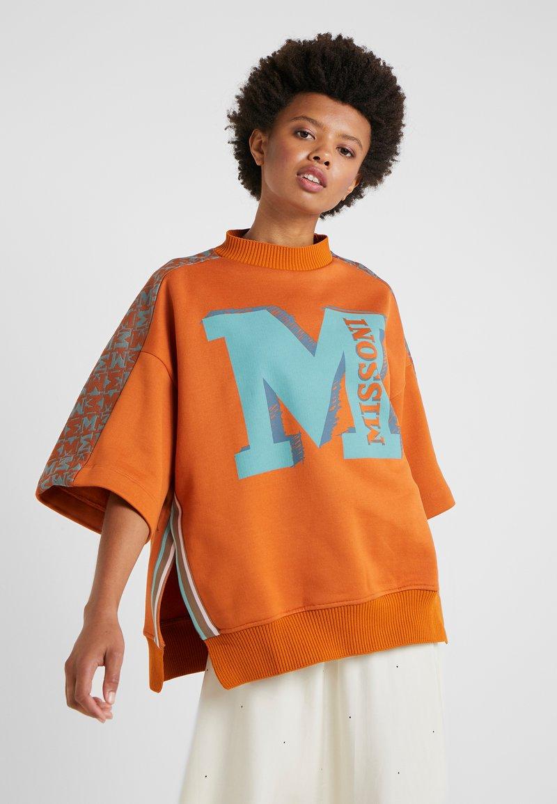 M Missoni - FELPA - Sweatshirt - orange