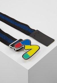 M Missoni - CINTURA ELASTICA NASTRO - Waist belt - black/blue - 3