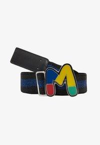 M Missoni - CINTURA ELASTICA NASTRO - Waist belt - black/blue - 1