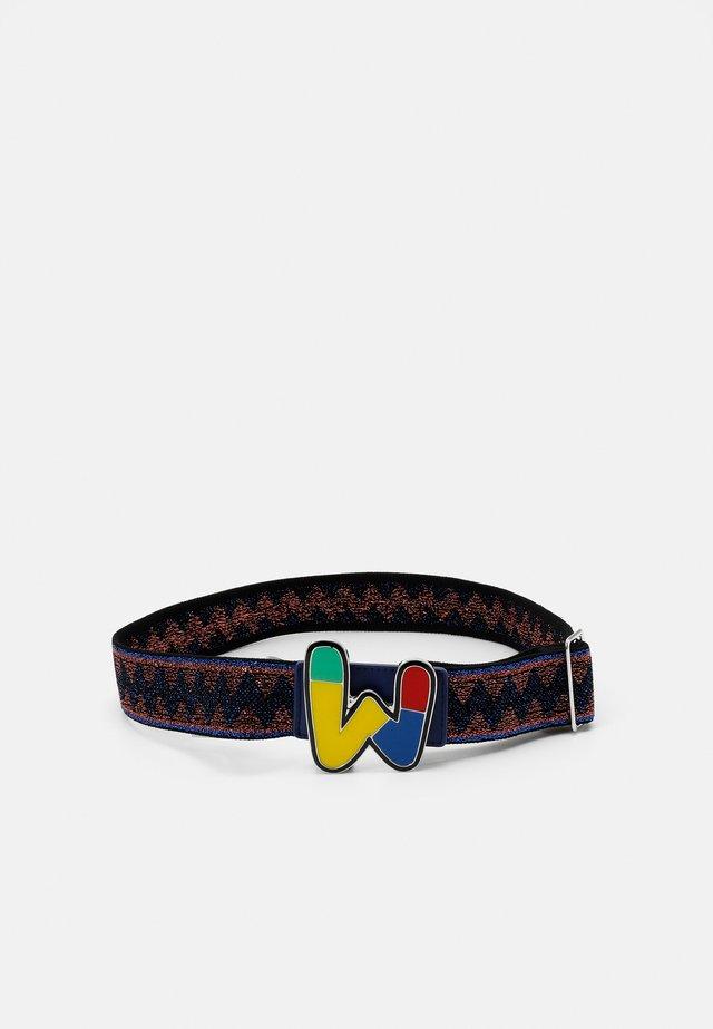CINTURA LOGO - Waist belt - blue