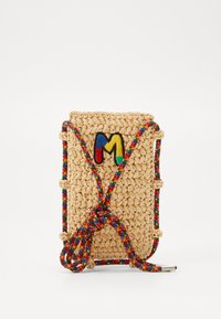 M Missoni - PORTACELLULARE CROCHET - Across body bag - beige - 0