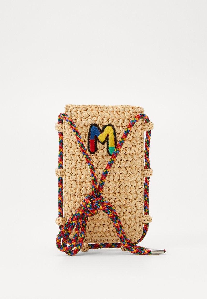 M Missoni - PORTACELLULARE CROCHET - Across body bag - beige