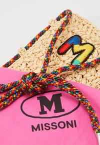 M Missoni - PORTACELLULARE CROCHET - Across body bag - beige - 2
