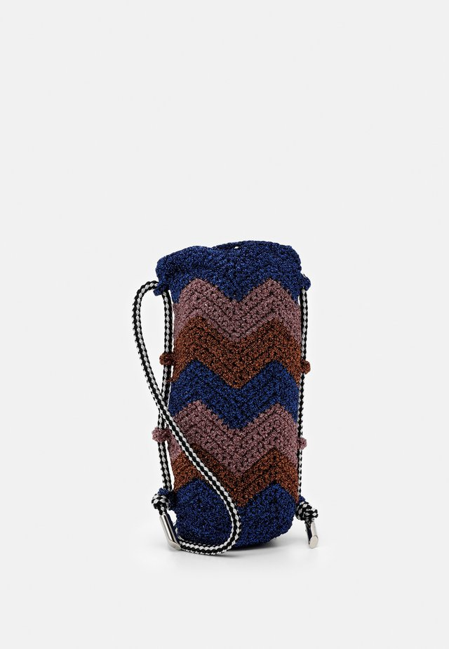 PORTA BORRACCIA  - Across body bag - blue