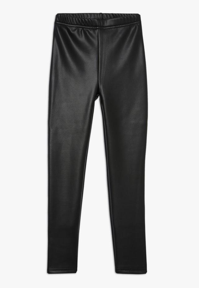 GIRLS PANTS - Leggings - Trousers - black