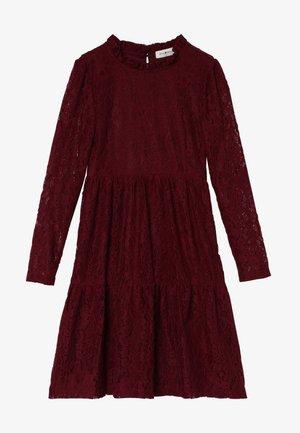 GIRLS DRESS - Koktejlové šaty/ šaty na párty - dark red