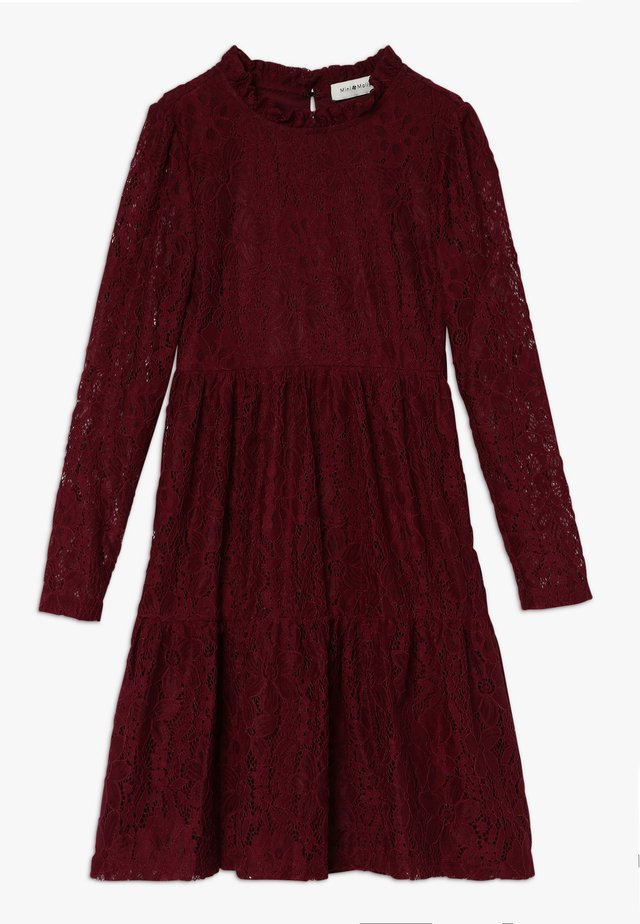 GIRLS DRESS - Robe de soirée - dark red