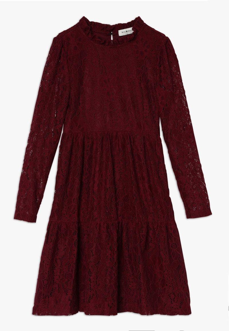 Mini Molly - GIRLS DRESS - Sukienka koktajlowa - dark red