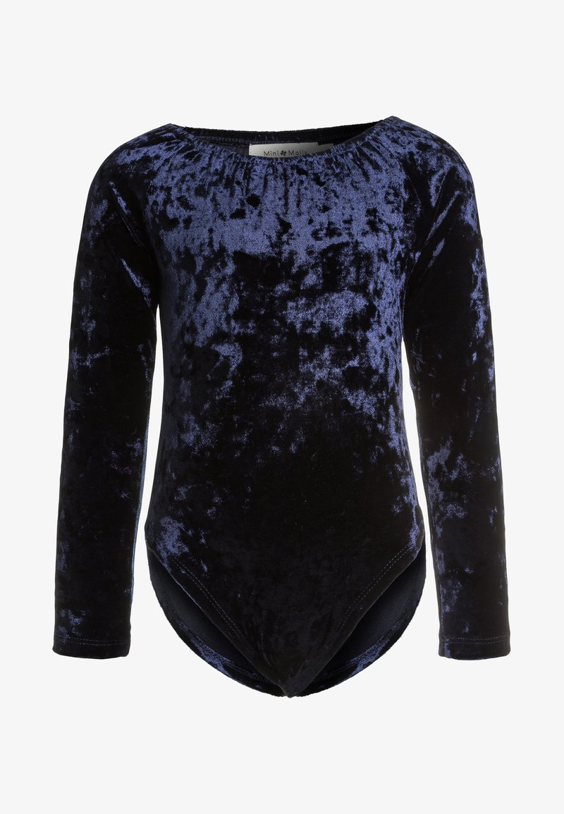 Mini Molly - GIRLS BODY - Long sleeved top - mid blue