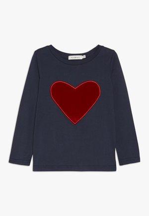 GIRLS TEE - Long sleeved top - navy blue