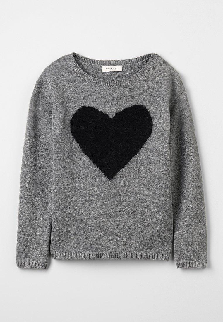 Mini Molly - GIRLS  - Jumper - grey/black