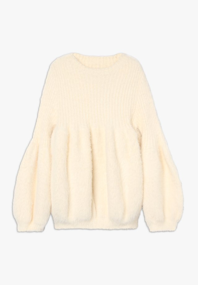 GIRLS KNITTED - Pullover - off white