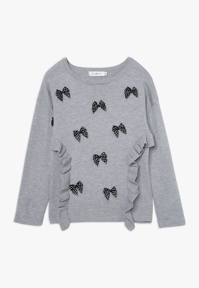 GIRLS - Jumper - light heather grey