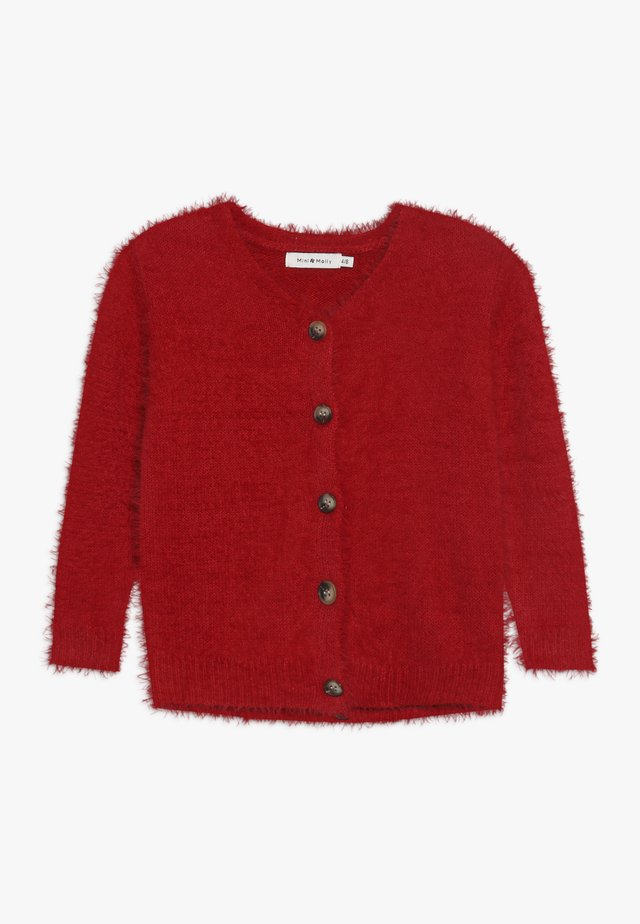 GIRLS CARDIGAN - Cardigan - red