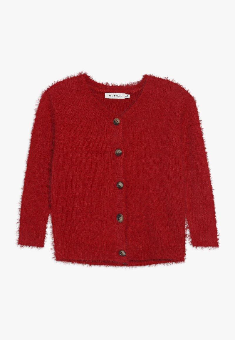 Mini Molly - GIRLS CARDIGAN - Chaqueta de punto - red