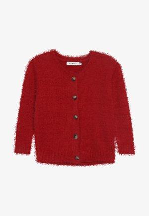 GIRLS CARDIGAN - Strikjakke /Cardigans - red