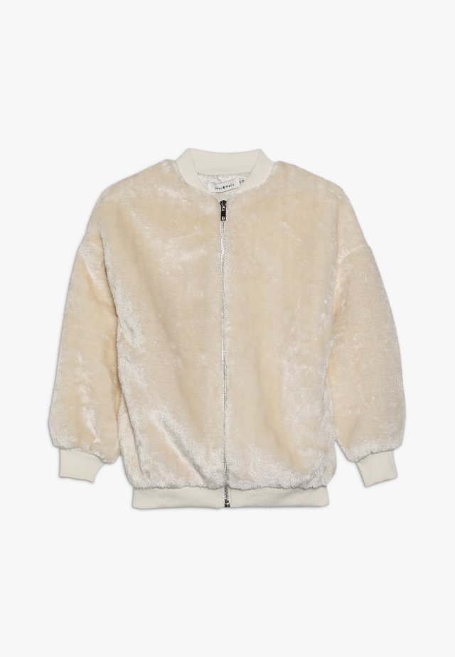 GIRLS JACKET - Winter jacket - offwhite