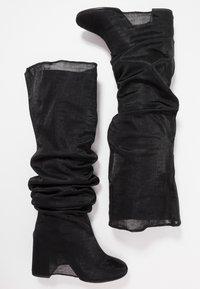 MM6 Maison Margiela - High heeled boots - black - 4