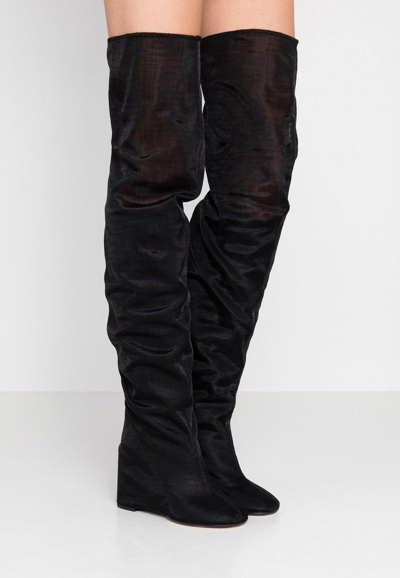 MM6 Maison Margiela - High heeled boots - black