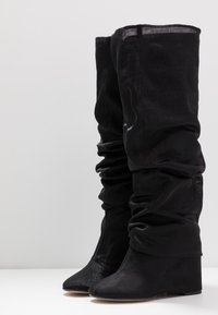 MM6 Maison Margiela - High heeled boots - black - 3