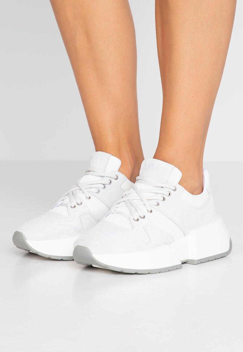 MM6 Maison Margiela - Sneakers - white asparagus