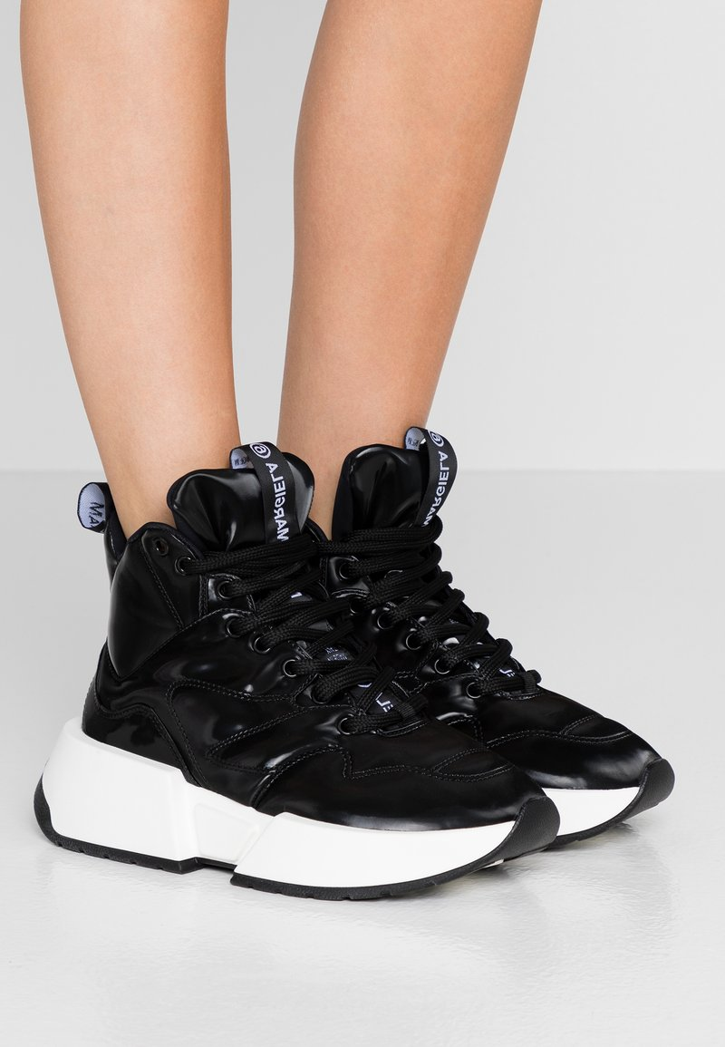 MM6 Maison Margiela - High-top trainers - black