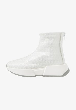 Sneaker high - transparent/bright white