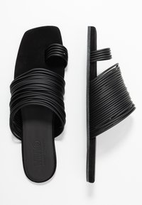 MM6 Maison Margiela - T-bar sandals - black - 3