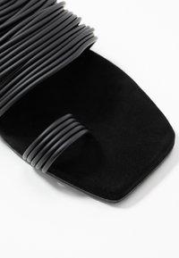 MM6 Maison Margiela - T-bar sandals - black - 2