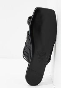 MM6 Maison Margiela - T-bar sandals - black - 6