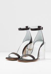 MM6 Maison Margiela - Sandály na vysokém podpatku - black - 4