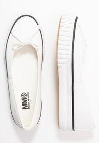 MM6 Maison Margiela - Ballerinat - bright white - 1