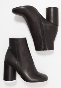 MM6 Maison Margiela - High heeled ankle boots - black - 3