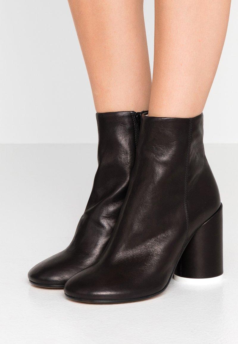 MM6 Maison Margiela - High heeled ankle boots - black