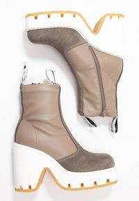 MM6 Maison Margiela - High heeled ankle boots - dark olive/otter - 3
