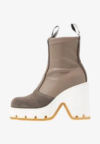 MM6 Maison Margiela - High heeled ankle boots - dark olive/otter - 1
