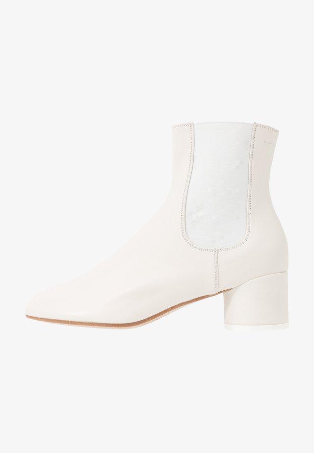 Kotníkové boty - gardenia