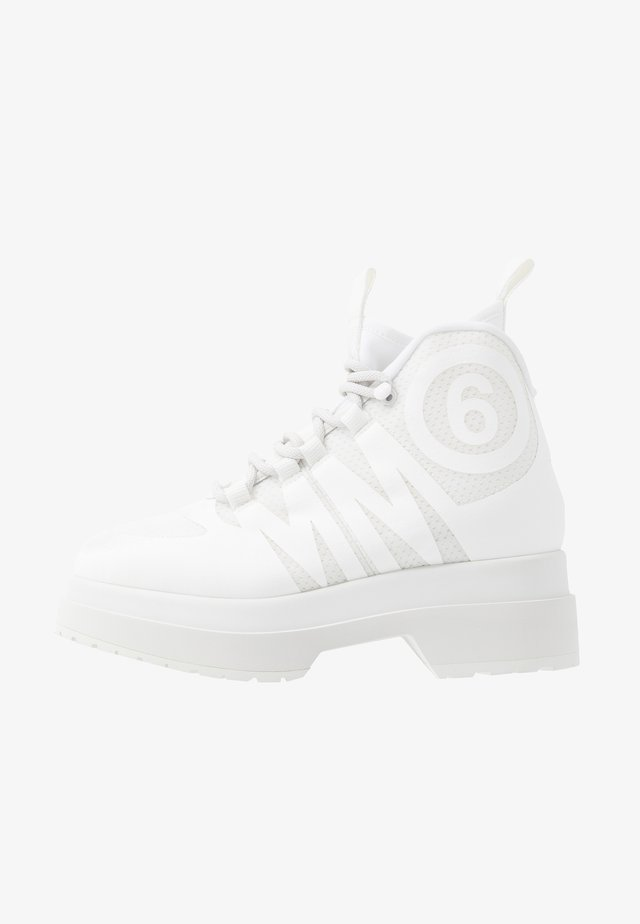 High-top trainers - blanc de blanc/bright white