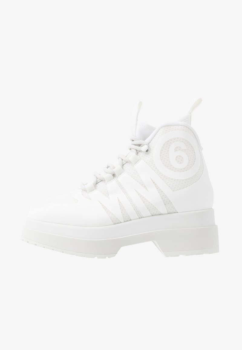 MM6 Maison Margiela - Sneakers hoog - blanc de blanc/bright white