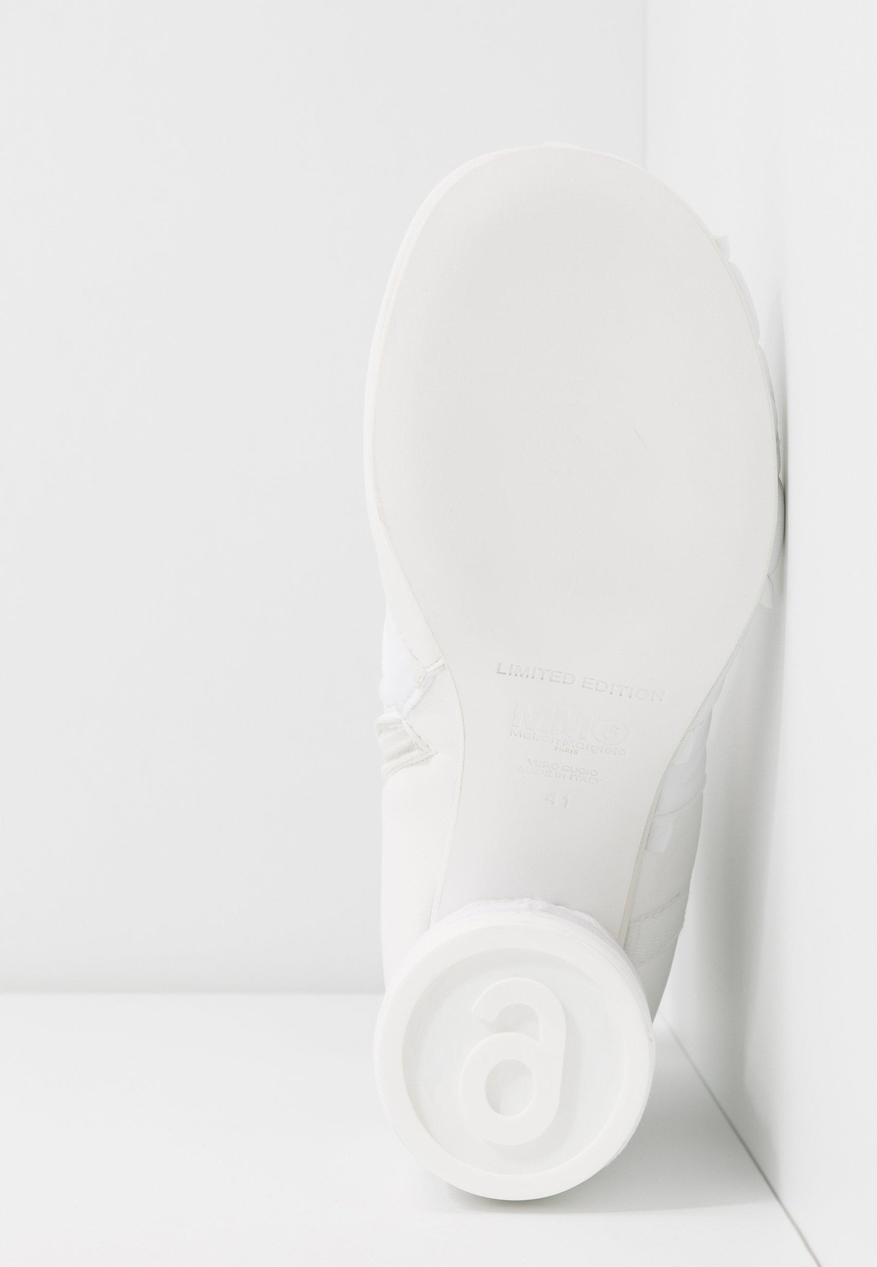 MM6 Maison Margiela Bottines à talons hauts - white