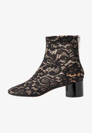 Kotníkové boty - black/winter wheat