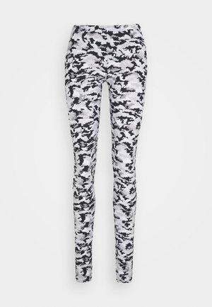 CAMO - Leggings - Trousers - white/grey/multi