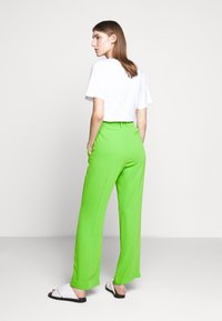 MM6 Maison Margiela - SMART - Trousers - green - 2